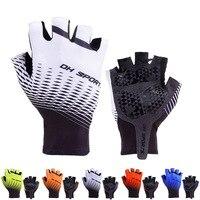 2019 neue Radfahren Handschuhe Half Finger Gel Sport Racing Fahrrad Handschuhe Frauen Männer Sommer Rennrad Anti slip Outdoor handschuhe-in Fahrradhandschuhe aus Sport und Unterhaltung bei