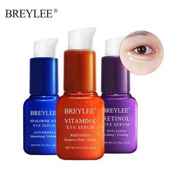 BREYLEE Eye Serum Retinol Hyaluronic Acid Vitamin C Moisturizing Cream Remove Dark Circles Eye Bags  Firming Eye Mask Eye Care недорого