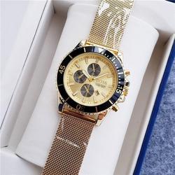 Luxus Marke quarz Herren frauen Uhren Quarzuhr Edelstahl Band männer der armbanduhr klassische business kleid herren uhr 45