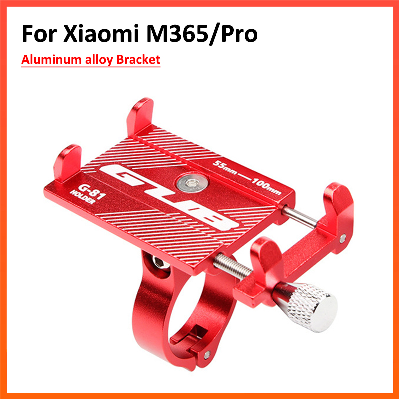 GUB Support Adjustable Anti-Slip Mobile Phone Stand Holder For Xiaomi M365 Pro Electric Scooter Phone Bracket
