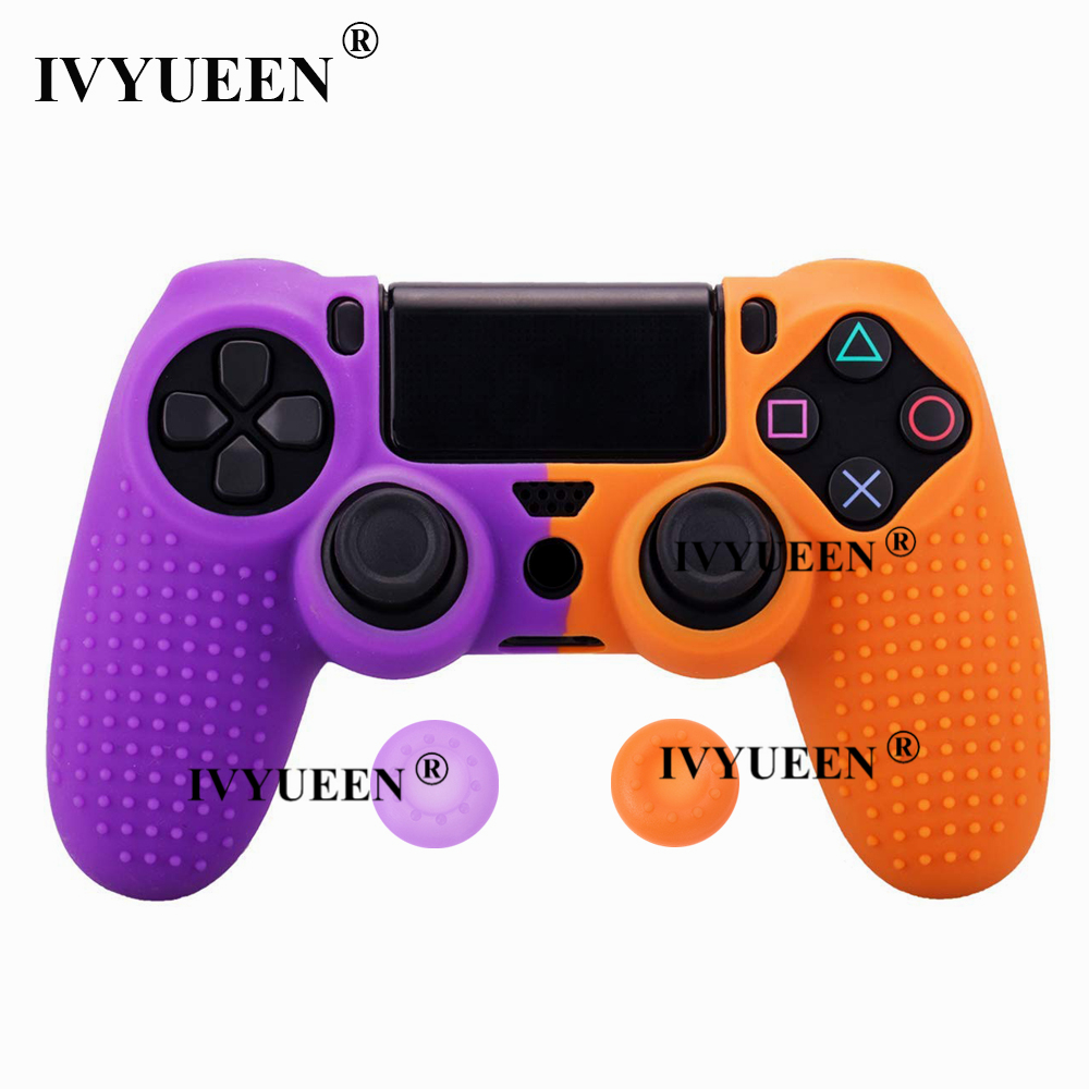 for Sony PlayStation dualshock 4 ps4 pro slim controller silicone case skin 24