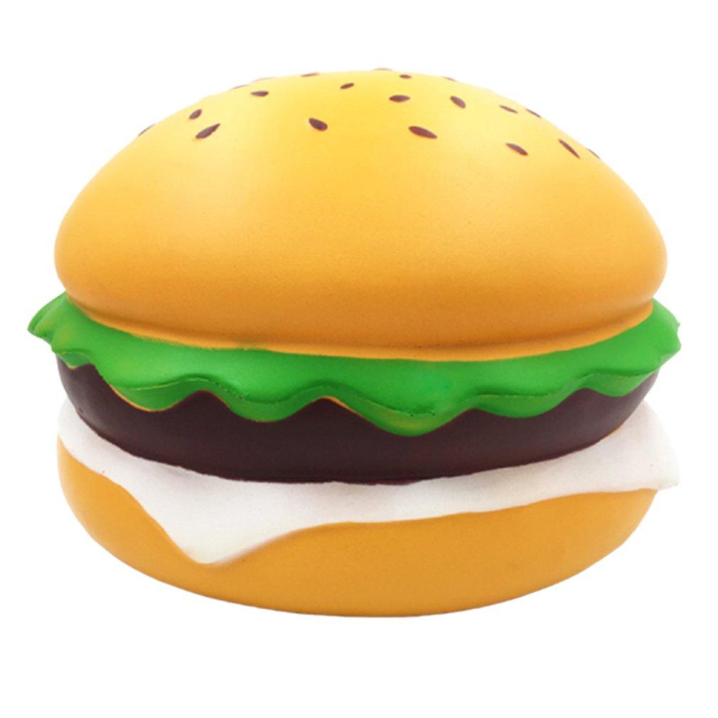 Мягкий медленный отскок супер-большой кунжутный бургер игрушка медленный отскок супер-большой кунжутный бургер имитационная модель
