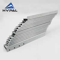 Hardware Accessories using for building dining dinner table extend table slides 2 pcs for 1 pair for one table
