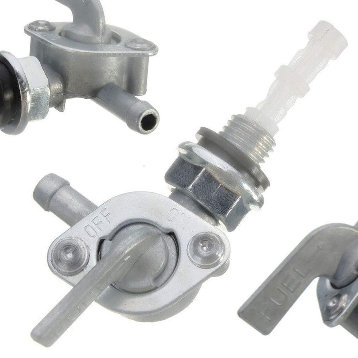 Fuel Shut Off On Off Valve Generator Gas Engine Tank Fuel Shut Off On/off Valve Useful Durable Strainer Replacement