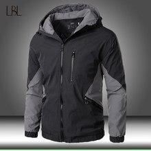 2020 novo outono inverno com capuz com zíper jaqueta masculina streetwear bombardeiro jaqueta blusão dos homens casaco esportivo fino ajuste piloto outwear