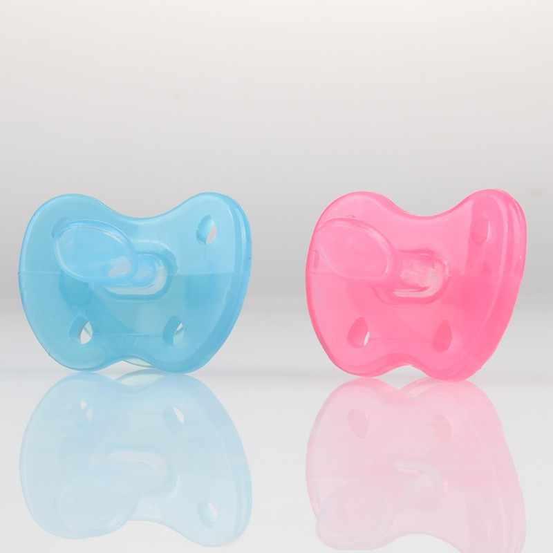 Baby Fopspeen Fopspeen Tepel Orthodontische Siliconen Bijtring Zuigelingen