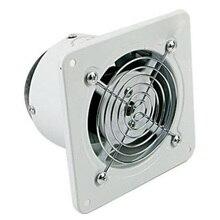 Top Angebote 4 Inch 20W 220V Lüftungsabluftventilator Extractor Fan Fenster Wand Küche Wc Bad Kanal Booster Gebläse luft Reinigen Co