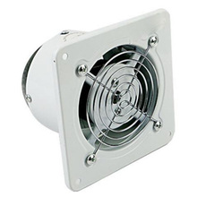 Top Deals 4 Inch 20W 220V Ventilating Exhaust Extractor Fan Window Wall Kitchen Toilet Bathroom Duct Booster Blower Air Clean Co