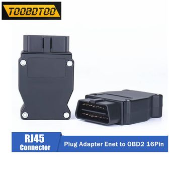 For BMW OBD2 16PIN Enet Connector OBD Plug Adapter For BMW Cars OBD2 16PIN Enet Connector ESYS ICOM Coding Interface image