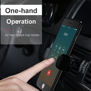 Image 5 - ผู้ถือโทรศัพท์สำหรับ iPhone 8 7 6 ปรับ Air Vent Mount ผู้ถือรถ 360 องศาสนับสนุนโทรศัพท์มือถือขาตั้งโทรศัพท์