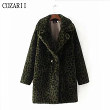 winter coat women Warm Leopard print faux fur coat long sleeve thick teddy coat Outwear thick faux fur jacket lady long coat toddlers clothing winter kids baby faux fur coat girls jacket thick warm outwear clothes faux fur coat baby winter coats