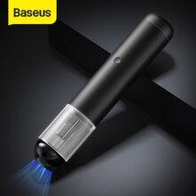 Baseus 15000Pa автомобильный пылесос Беспроводной Мини Ручной пылесос w светодиодный светильник для автомобиля дом чистым Портативный пылесос