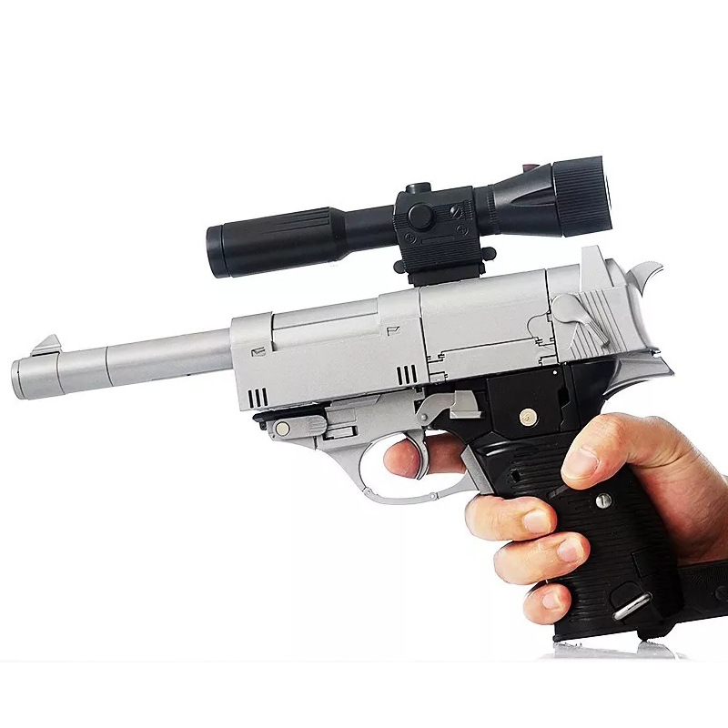32cm Weijang Metal parte modelo MP36 NE 01 arma de guerra transformación MPP36 G1 MP36 colección de gran tamaño viajero figura de acción regalos - 2