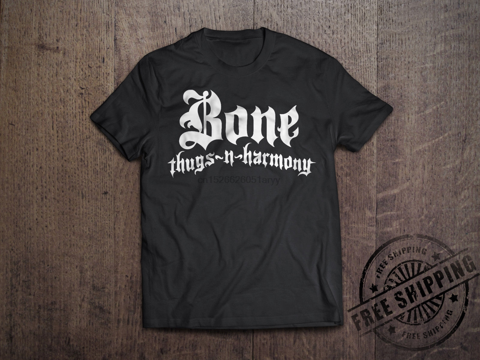 Bone Thugs N Harmony Logo T Shirt Vintage Hip Hop Rap Group Tee