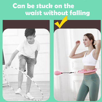 Smart Counting Sports Hula Hoop Exercise Device 6
