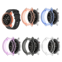 Soft TPU Watch Case Cover for Amazfit GTR 47mm Shell Frame Bumper Smartwatch Accessories