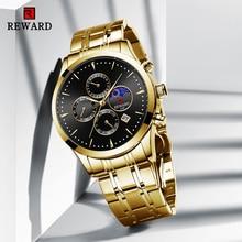 REWARD 2020 New Fashion Men Watches Top Luxury Brand Gold St