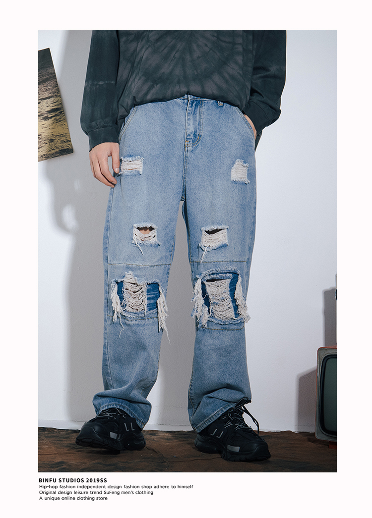 I Donne Distressed Jeans 6