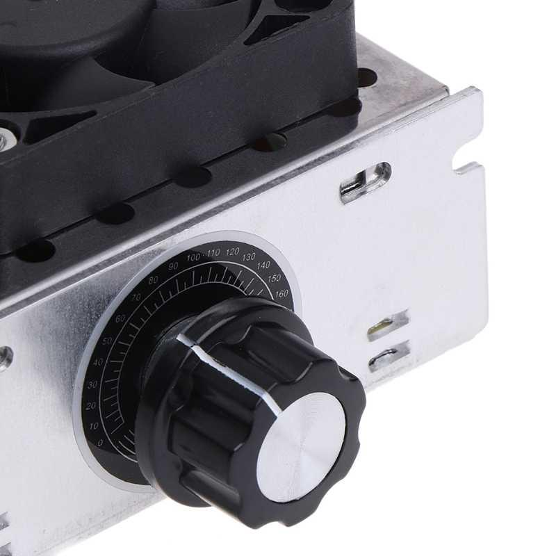 AC 220V 4000W SCR regulador de voltaje Variable controlador de Control de velocidad del Motor ventilador