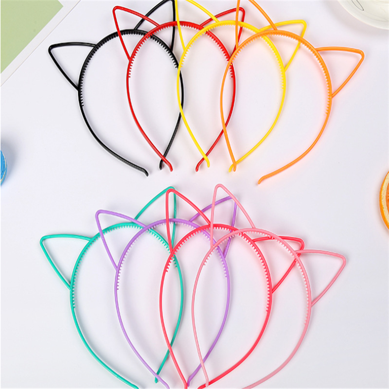 Fashion Cat Ears Headband Hair Hoop For Kids Baby Birthday Party Sexy Head Band Hairbands Hair Accessories Cheap Price Wholesale