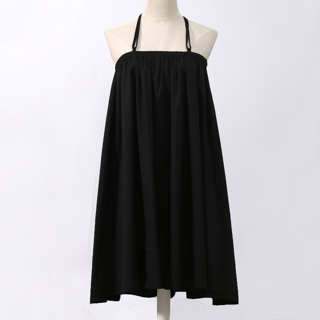 VeryYu 2020 Summer Women Black Long Maxi Skirt Elastic Waist Fashion  VeryYu the Best Online Store for Women Beauty and Wellness Products
