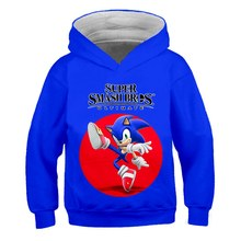 Anime Mario Sonic 3D Druck Hoodie Sweatshirt Herbst Neue Stil 3d Hoodies Cartoon Pikachu Super Casual Pullover kinder Hoddies(China)