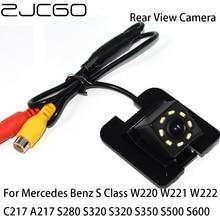 ZJCGO Car Rear View Reverse Back Up Parking Camera for Mercedes Benz S Class W220 W221 W222 C217 A217 S280 S320 S320 S350 S500