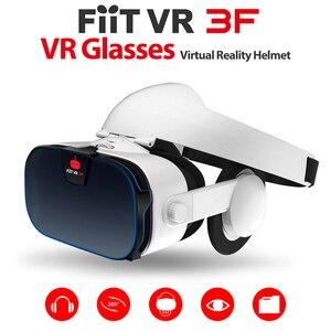 Image 4 - FIIT AR X AR Occhiali Smart Glasses Maggiore 3D VR OCCHIALI Scatola di Cuffie di Realtà Virtuale Casco VR AURICOLARE Per 4.7 6.3 pollici smartphone
