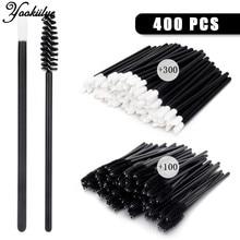Disposable Lip Eyelash Brushes Cotton Swab Microbrushes Eyelash Extension Tools Individual Eyelashes Removing Tools Women