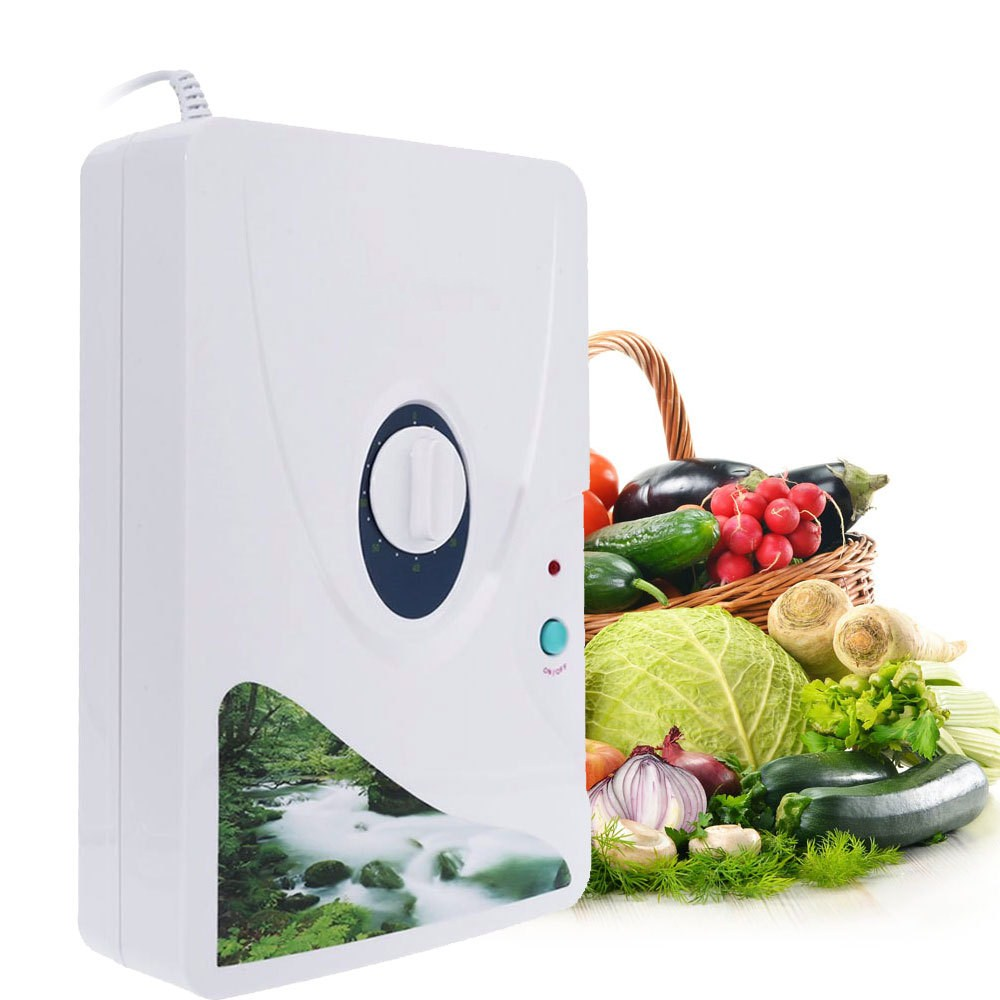 Smart Air Purifier Ozone Generator Oxygen Generator For Home Appliances Fruit Vegetable Cleaning Detoxification Purifiing Water