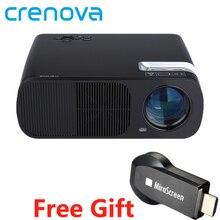 CRENOVA Самая низкая реклама видео проектор XPE600, лучший домашний светодиодный прожектор кино для Full HD 1080P