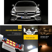 цена на LED Interior Car Lights For MERCEDES-BENZ cls c218 c219 coupe shooting brake x218 estate car accessories lamp bulb error free