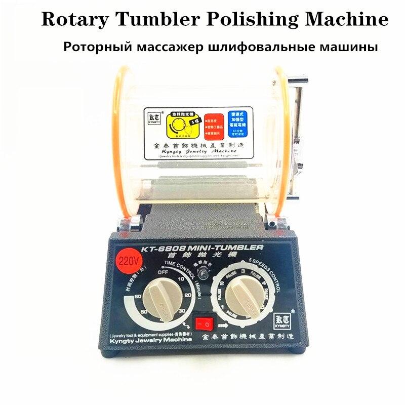 3 kg Trommel Polieren Maschine, Schmuck Rotary Tumbler, Taumeln Mini-Tumbler Rotary Tumbler Polieren Maschine Schmuck Polierer