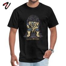 Game of Thrones Thanos Lord Tshirts Marvel Avengers Superhero Fashion Comic Design Tops & Tees Infinite War O-Neck 100% Cotton