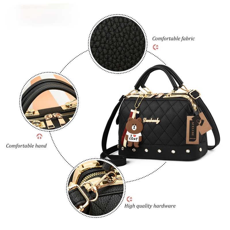 Сумка на плечо Valenkuci женская из экокожи, брендовая Роскошная сумочка, дизайнерский саквояж на плечо