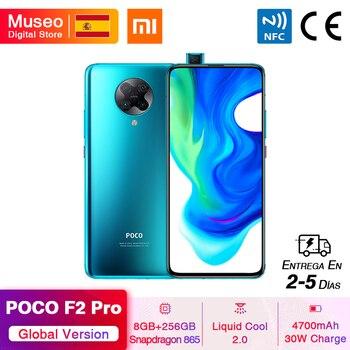 Перейти на Алиэкспресс и купить Глобальная версия Xiaomi POCO F2 Pro POCOPHONE F2 Pro 5G смартфон 8 ГБ 256 ГБ Snapdragon 865 64 мп Quad Cam 6,67 ''4700 мАч 30 Вт NFC