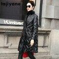 Natürliche Frauen Echte Echtem Leder Jacke Nerz Pelz Kragen Schaffell Unten Mantel Winter Mantel Frauen Kleidung 2020 Vintage Tops 4054