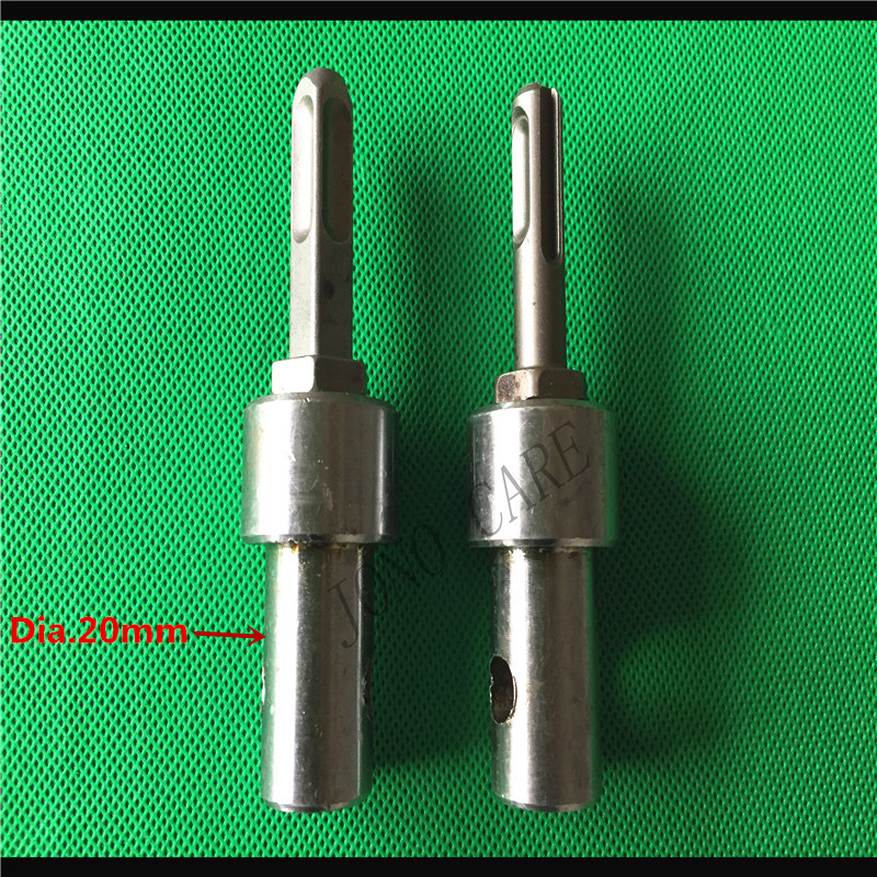 SDS Plus 4 Slots Square Round Hammer Drill Adapter Connector For Earth Auger Drill Bit