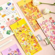 Mohamm 1Pc Erfüllen Die Delikatesse Serie Aufkleber Dekoration Scrapbooking Papier Kreative Stationäre Schule Liefert
