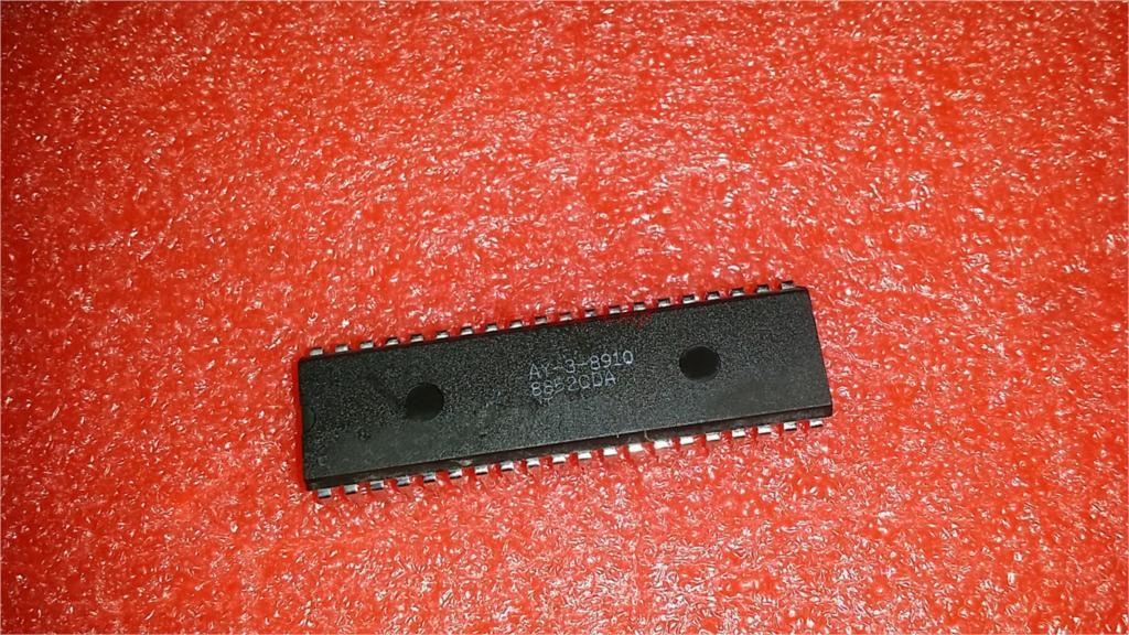 1pcs/lot AY-3-8910 AY-3-8910A DIP-40 In Stock