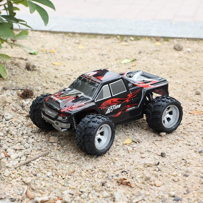 Радиоуправляемый автомобиль WLtoys A979 1/18 4WD гоночный автомобиль с дистанционным управлением Внедорожный гоночный автомобиль 2,4 ГГц пульт дистанционного управления на радиоуправлении светодиодный высокоскоростной грузовик багги - 4