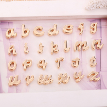 26 pieces / batch A - Z letter pendant metal alloy grass English accessories handmade glamour letters ladies jewe