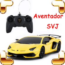 New Coming Gift Aventador SVJ 1/24 RC Car Speed Remote Contr