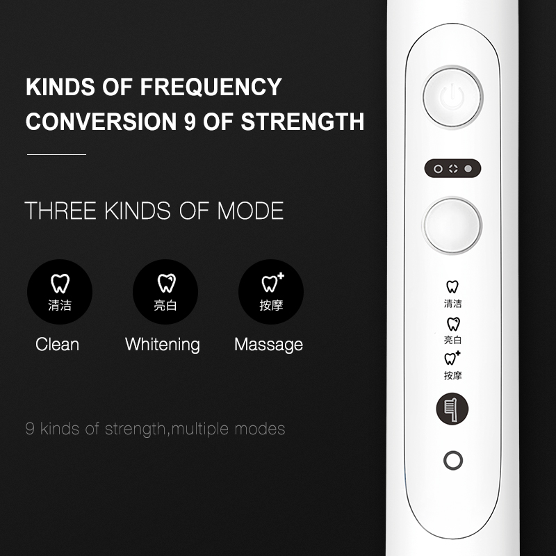 Electric Toothbrush Sonic Tooth Brush For Seago Automatic Upgraded Fast chargeable Adult Waterproof Whitening Healthy Best Gift