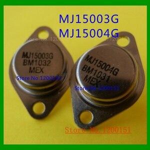 4pcs/lot=2PAIR MJ15003G MJ15004G MJ15003