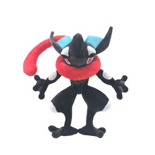 цена на Pokemon Go Anime Cartoon Ninja Frog Greninja Pocket Monster Action Figure Model Plush Soft Stuffed Peluche Doll Toy For Kids