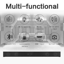 Subwoofer Home Wall-Speaker Soundbar Theater Supper-Bass Computer Wireless Bluetooth