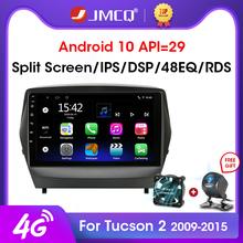 JMCQ Android 10 0 2G + 32G Radio samochodowe Multimidia odtwarzacz wideo nawigacja GPS dla ix35 Hyundai Tucson 2 LM IX35 2009-2015 2 din dvd tanie tanio CN (pochodzenie) Double Din NONE 4 x 45W 128G Android 8 1 Jpeg Metial+Plastics 1024*600 1 9kg Bluetooth Wbudowany gps Telefon komórkowy