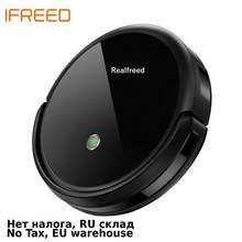 REALFREED A3 Robot Vacuum Cleaner,Route planning,Turbo brush,3000Pa suction,Map Display on Wifi APP,Large water tank(China)