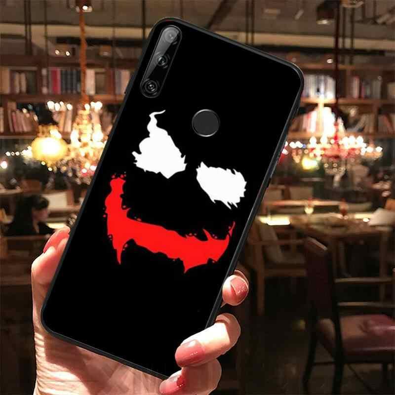 Werid gülümseme özel fotoğraf yumuşak telefon kılıfı için Huawei Y5 Y6 Y7 Y9 başbakan Pro II 2019 2018